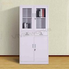 Combinational 4 Door Office Cabinet Cupboards With Shelves And Doors