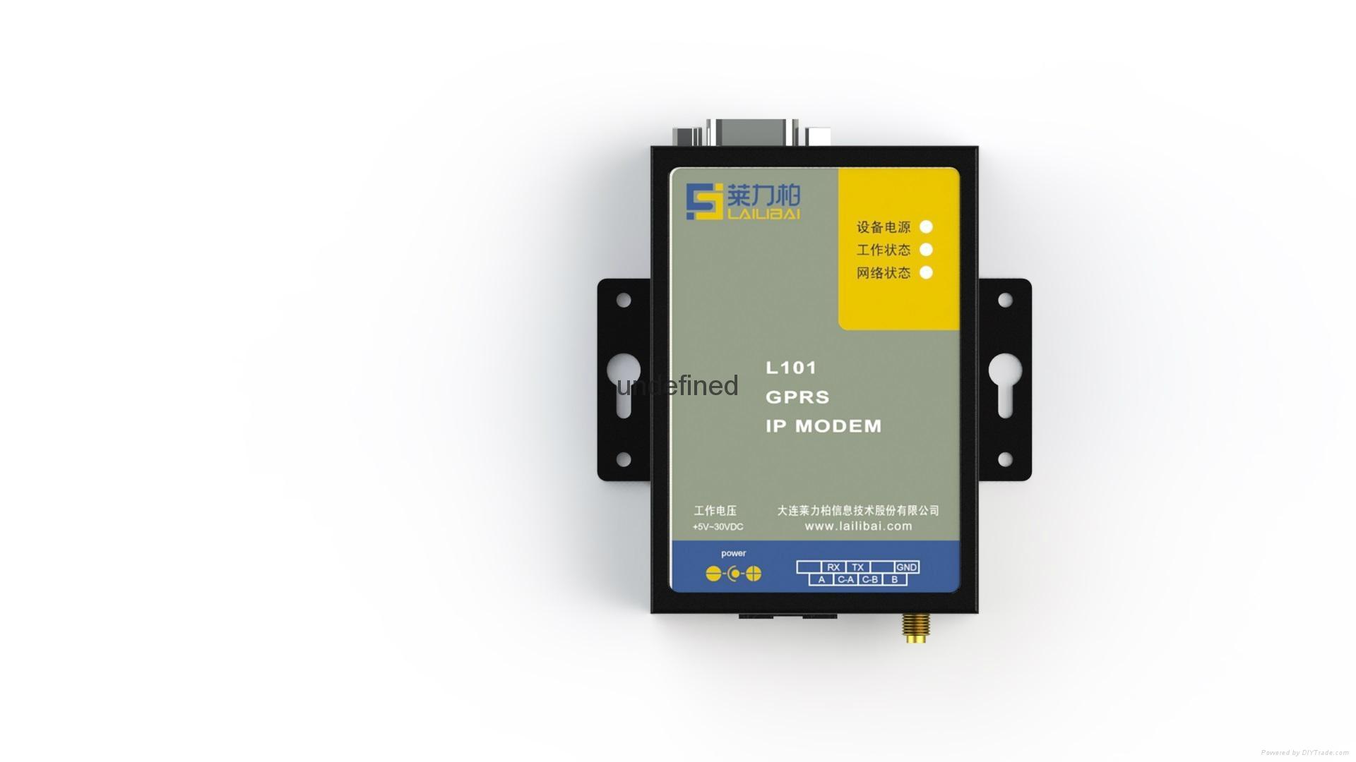 GPRS无线数据采集终端 2
