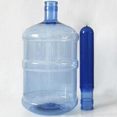 Press cap  empty 5 gallon pet preforms for bottle