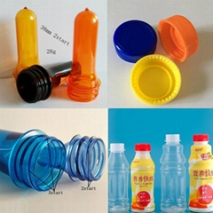 Material pet 38mm neck size pet 500ml hot fill plastic bottle