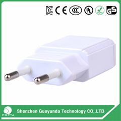 Factory Price travel charger 5V 1A 2A EU AU Plug USB Power Adapter universal