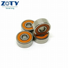 S623C-2RS Ceramic Orange Seal ABEC 7 Fishing Reel Bearings 3x10x4mm