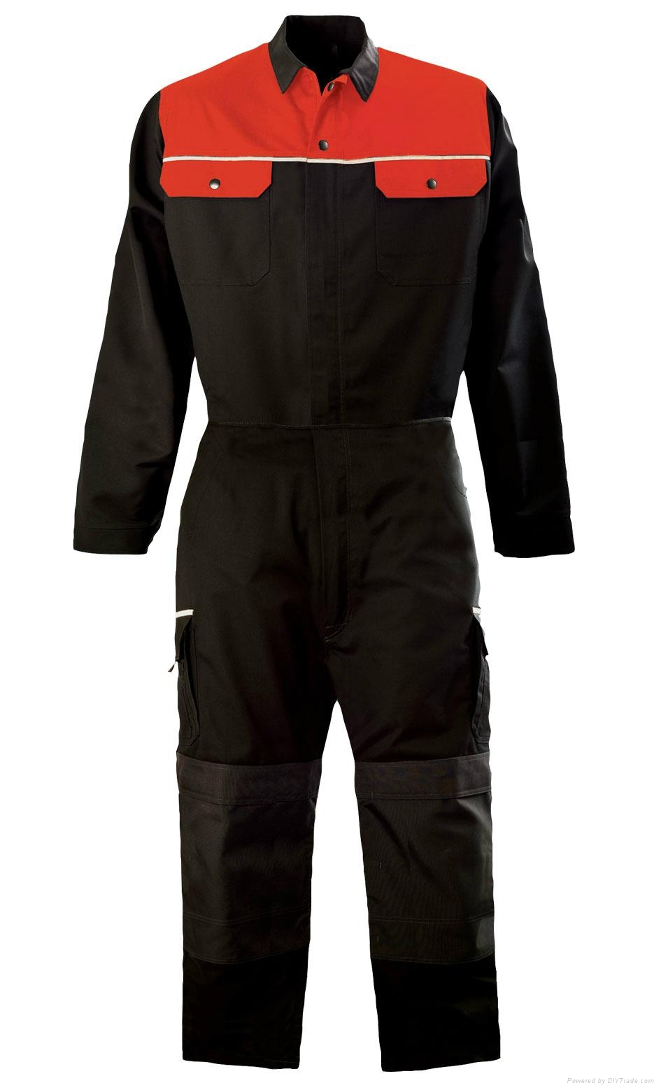 TC twill workwear coverall work clothes 3