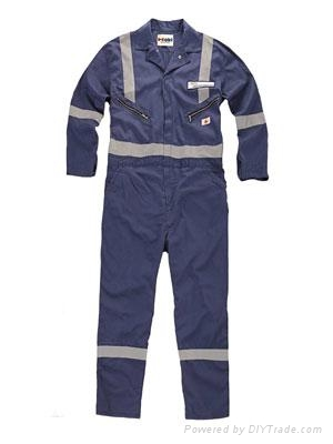 Poly cotton twill workwear coverall work clothes 1