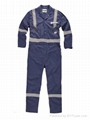 Poly cotton twill workwear coverall work