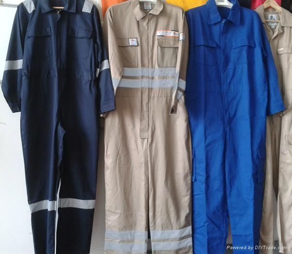 Poly cotton twill workwear coverall work clothes 2