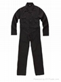 Poly cotton twill workwear coverall work clothes 4