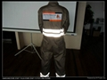 Poly cotton twill safety workwear coverall  2