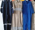 Poly cotton twill safety workwear coverall  4