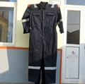 Poly cotton twill safety workwear coverall  5