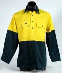 TC twill workwear jacket shirt