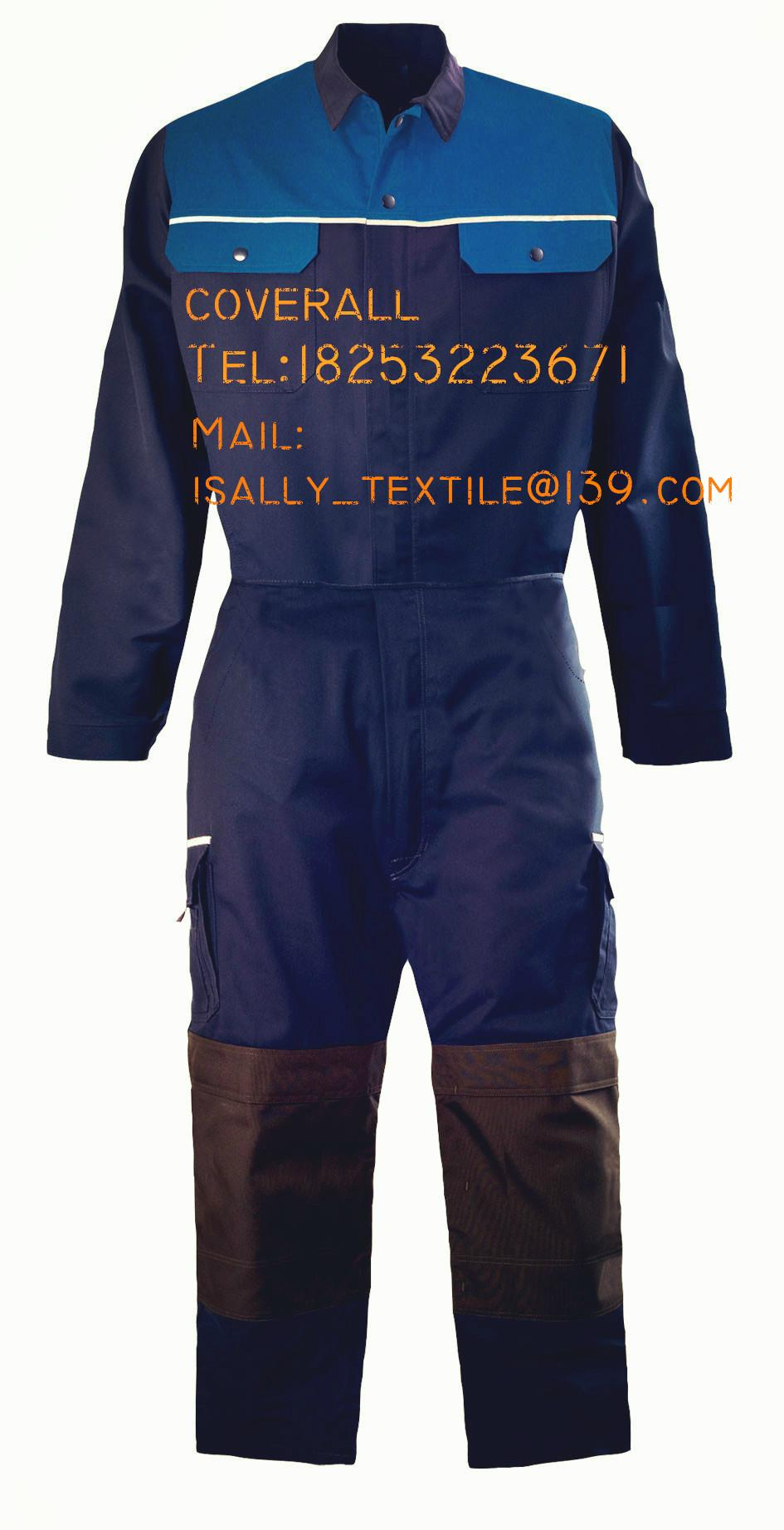 TC twill workwear coverall work clothes CUSTOMIZED 2