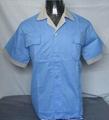 Workwear jacket shirt TC twill fabric