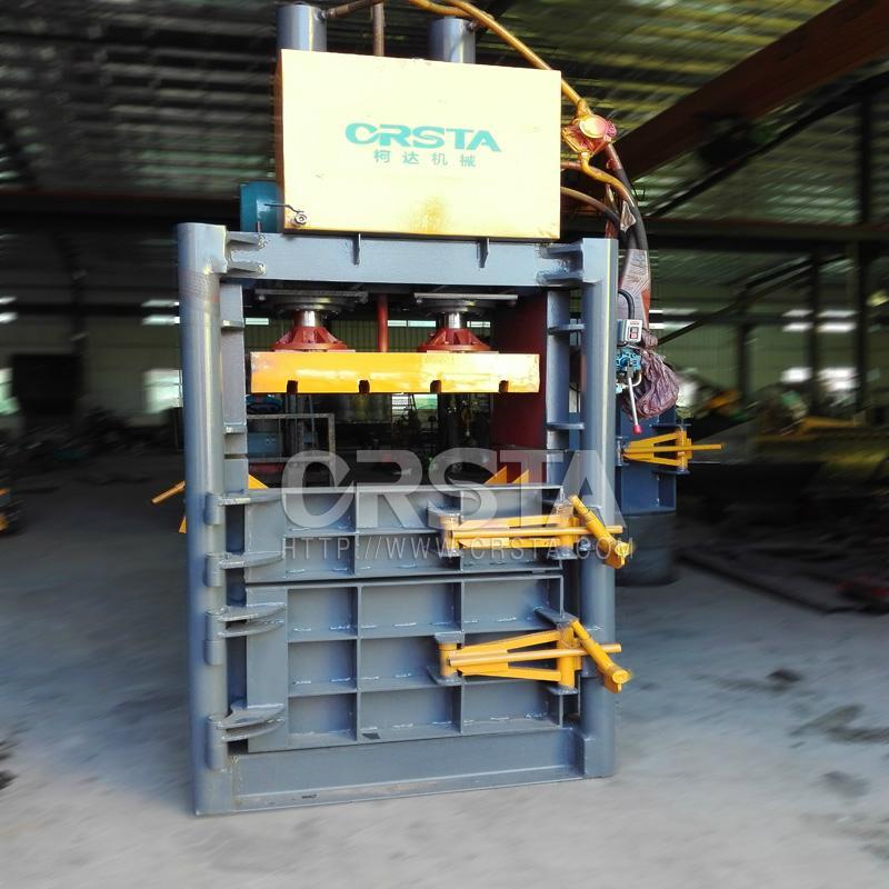 供应液压双缸金属压包机  3