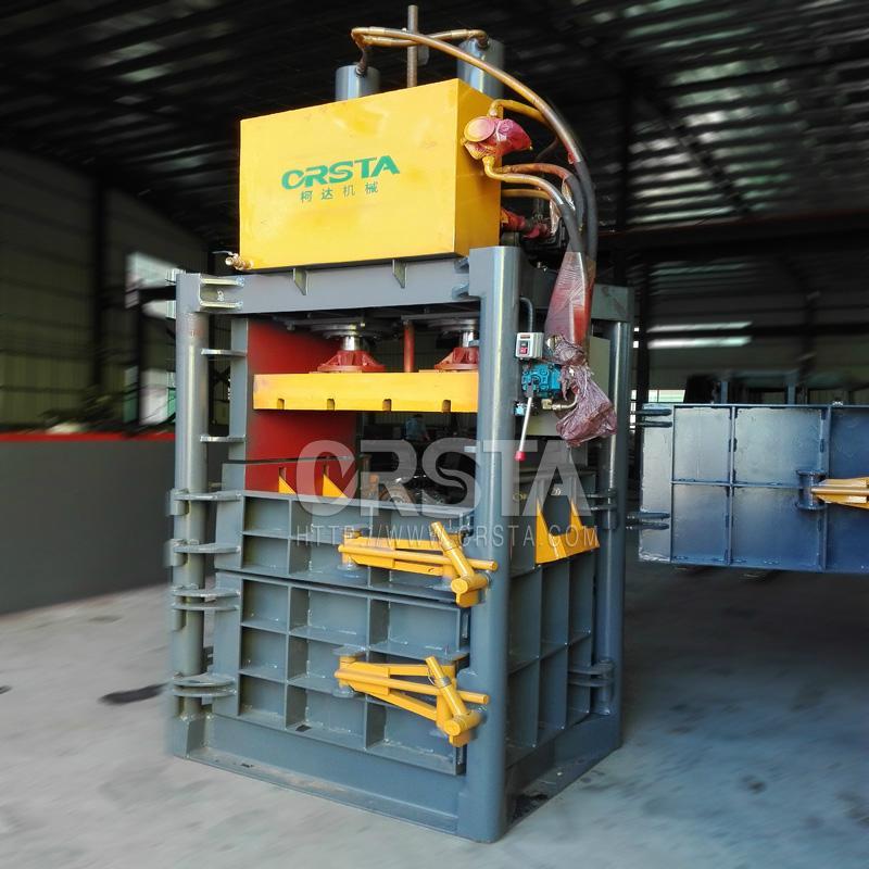 供应液压双缸金属压包机  4