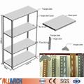 Ali Racking Slotted angle steel shelving MDF panel light duty steel shelf