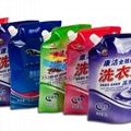 东莞市厂家专业定制吸嘴袋洗衣液包装袋 3