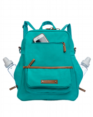 The Monroe-on-the-Go Convertible Diaper Backpack_Enzo Bags