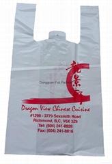 超市方便背心袋,雜貨印品牌包裝袋