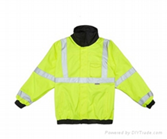 New style Reflective raincoats security raincoat