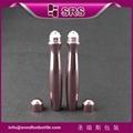 15ML眼霜瓶電鍍玫瑰色精華液空瓶子 2