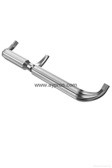 Aluminum door handle for 5 star hotels