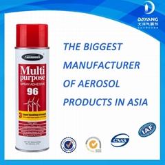 Super industry aerosl multi purpose fast dry glue adhesive