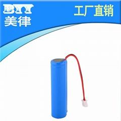 拉杆音響充電18650鋰電池出線帶插頭