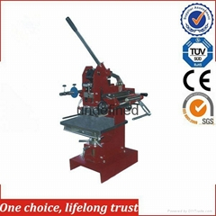 TJ-1E Hand Operated Low Price Embossing Machine Pyrography Machine PVC Safety Ca
