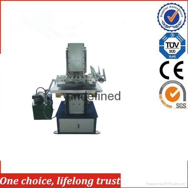 TJ-57 Automatic PVC Panel Decorative T-shirt Paper Bag Hot Foil Stamping Machin 1