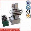 TJ-57 Automatic PVC Panel Decorative T-shirt Paper Bag Hot Foil Stamping Machin 5