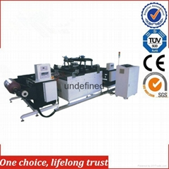 TJ-97 Large Format PLC Control Flex Banner Embossing Hot Stamping Machine for Wa