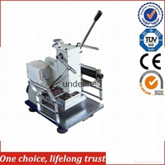 Jinggang TJ-18 Hand-operated Easy-operation Small Size Hot Stamping Machine for