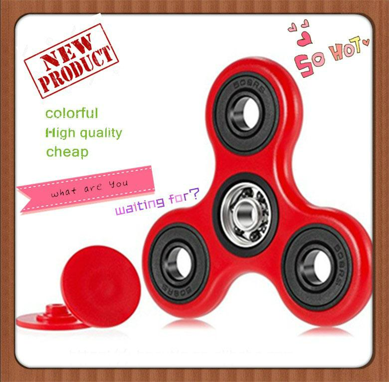 2017wholesale price spinner fidget toy with anti stress toys spinner fidget 1
