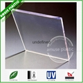 High Quality Bayer UV-Protection Plastic Polycarbonate PC Solid Flat Sheet 2