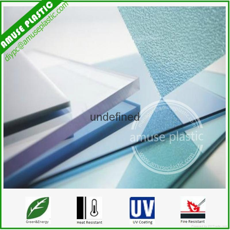 High Quality Bayer UV-Protection Plastic Polycarbonate PC Solid Flat Sheet 3