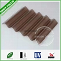 Policarbonato Sheet Hollow Solid PC Panels Corrugated Polycarbonate Roof Tiles S