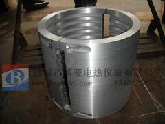 鑄鋁電加熱圈使用壽命長的鑄件加熱器