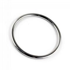Hardware metal plating round ring metal buckle ring