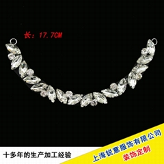 Garment chain hand stitch ornament DIY accessories welding chain