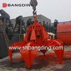 Electro-Hydraulic Orange Peel Grab bucket