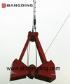 four rope Mechanical clamshell grab 2