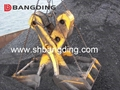 four rope Mechanical clamshell grab 3