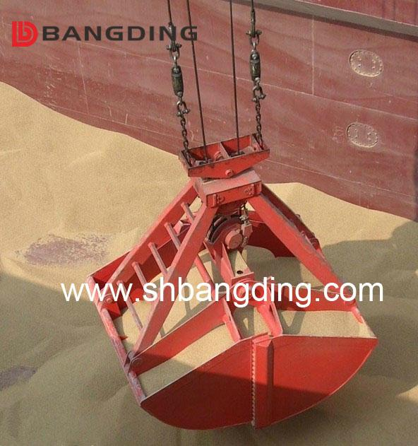 four rope Mechanical clamshell grab 5