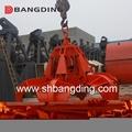 Electric Hydraulic scrap grab orange peel grab 5