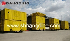 BANGDING port movable weighing and Bagging Machine for cement