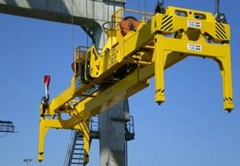 Movable semi-automatic  Container Spreader lifting frame
