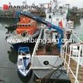 Electro Hydraulic telescopic boom Marine Deck Crane 5
