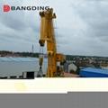Offshore marine Knuckle Boom Crane Pedestal crane 2