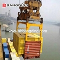 I type Semi Automatic Container Spreader lifting  2